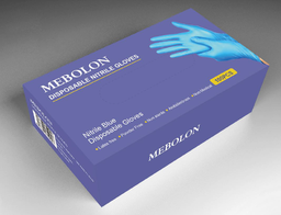 Nitrile Exam Gloves Mebolon - Case Lot